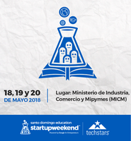 Startup Weekend Santo Domingo Education 2018
